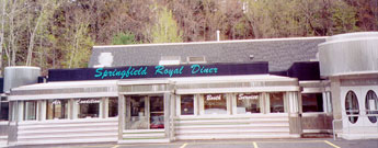 Springfield Royal Diner - the rebirth of an American experience