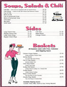 Soups, Salads & Chili - Springfield Royal Diner Menu